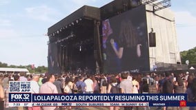 Lollapalooza reportedly resuming this summer