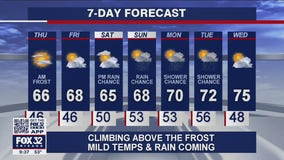 10 p.m. forecast for Chicagoland on May 12