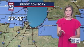 6 p.m. forecast for Chicagoland on May 10