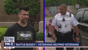 Joliet 'Battle Buddy' program pairs military veteran officers with veterans who call 911