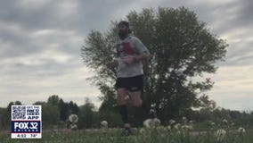 Woodstock first responder running 70+ miles to bring attention to firefighter suicide issue