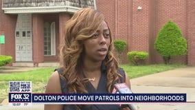 Dolton police shift patrols into neighborhoods to combat crime spike