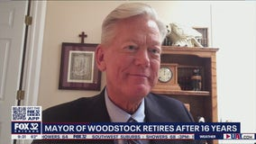 Mayor of Woodstock announces retirement after 16 years