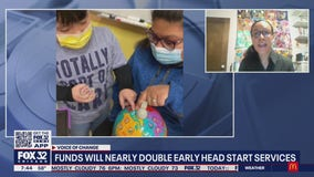 Funds will nearly double for early head start services