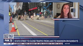 State Street to close traffic from Lake to Madison on Sundays
