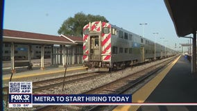 Metra hiring for 100 positions Monday