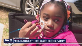 Hundreds attend free block party in Englewood