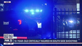 12-year-old boy in serious condition after being shot inside South Side home