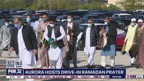 Aurora hosts drive-in Ramadan prayer