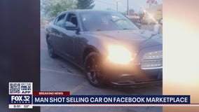 Suburban man shot, carjacked while selling vehicle to buyers over Facebook Marketplace