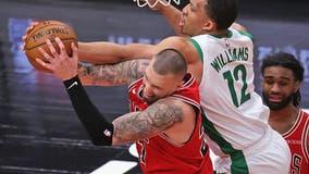 LaVine, White score 25 as Bulls beat Celtics 121-99