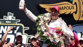 Helio Castroneves wins Indy 500