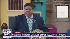 Pritzker: Vaccinated people in Illinois no longer need to wear masks, social distance in most settings