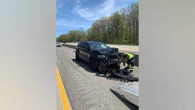 Chicago woman charged after fleeing traffic stop in stolen car, crashing into another vehicle in Indiana