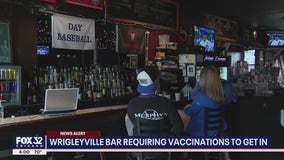 Chicago bar only allowing people inside who are vaccinated