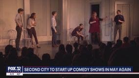 The Second City reopens for in-person shows; first time since the pandemic