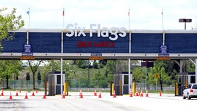 Suburban vaccination clinic offering free Six Flags tickets