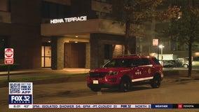 Man, 65, dies after Uptown high-rise fire