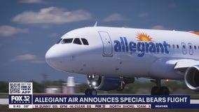 Allegiant Air announces special flight for Bears fans for Vegas game