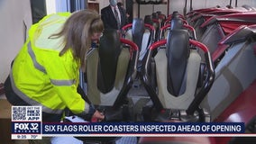 Six Flags Great America rides being inspected before park fully opens Memorial Day weekend
