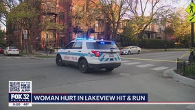 Woman, 21, seriously injured in Lake View hit-and-run