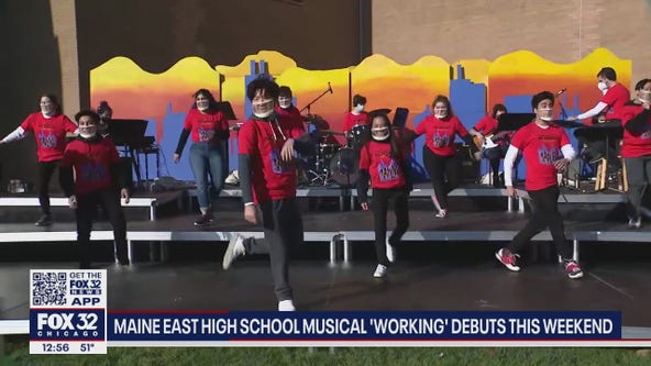 Maine East High School musical 'Working' debuts