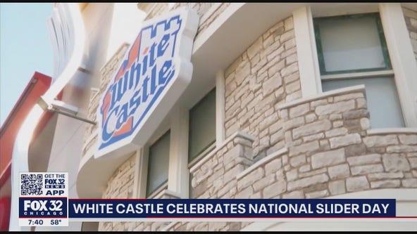 White Castle celebrates National Slider Day