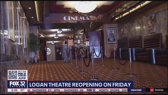 Chicago's Logan Theatre to reopen on Friday