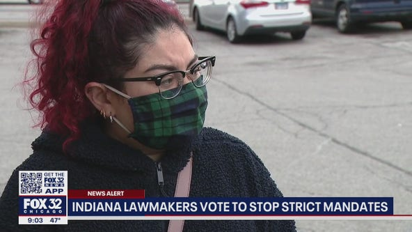 State lawmakers in Indiana vote to stop strict public health mandates