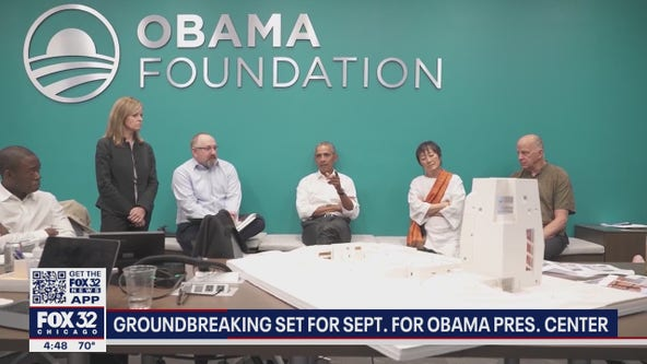 Obama Presidential Center officials hold discussion Monday on 'moving us forward'