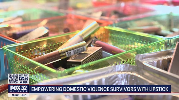 Florida woman makes a difference to local survivors of domestic abuse - one tube of lipstick at a time