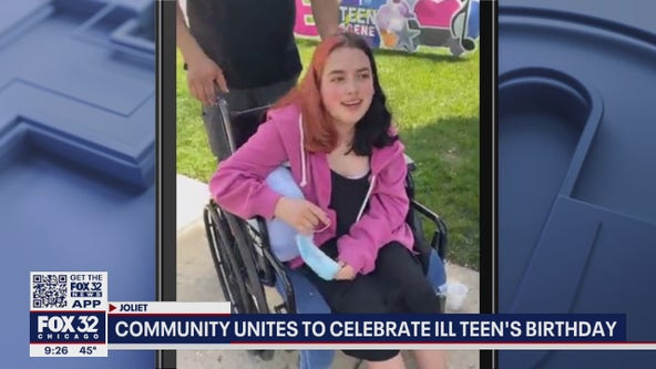 Joliet helps girl in need of kidney celebrate her 15th birthday