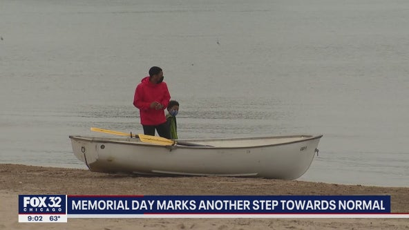 Chicagoans reflect on Memorial Day as life begins returning to normal