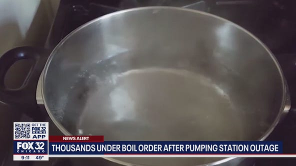 Boil order in effect after thousands of SW Side residents lose water