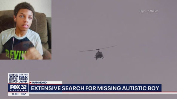 12-year-old boy with autism still missing since Saturday from Hammond, Indiana