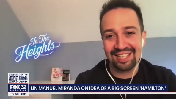 Lin-Manuel Miranda talks big screen adaptation of 'In The Heights', future of 'Hamilton'