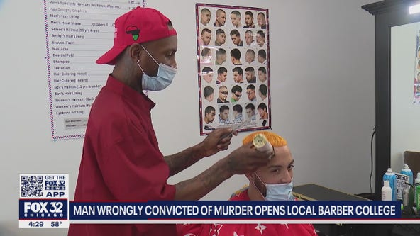 Man wrongly convicted of murder opens barber college in Rogers Park