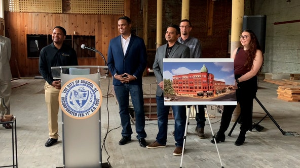 Aurora starts transformation of 128-year-old Hobb building into apartments, retail