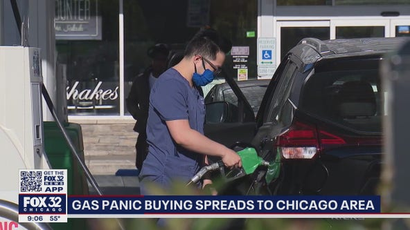 Gas panic spreads to Chicago area