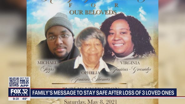 Suburban family loses three, from three generations, to COVID