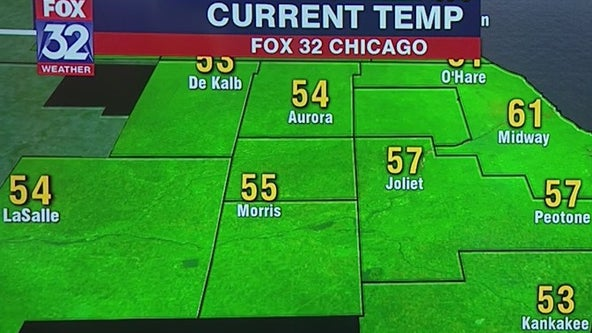 Forecast: Rain, cloudy skies and highs in the 60s