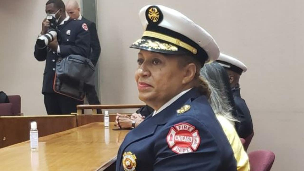 Annette Nance-Holt Becomes First Black Woman to Lead Chicago's Fire Department