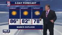 Sunday morning forecast for Chicagoland on June 13