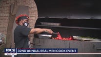 32nd Annual Real Men Cook event held in Chicago on Father's Day