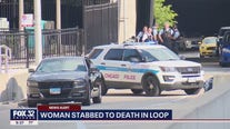 Woman fatally stabbed in the back in downtown Chicago