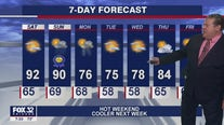 Saturday morning forecast for Chicagoland on June 19