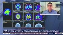 FDA approves new drug for Alzheimer's