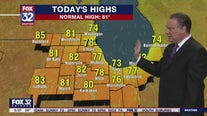 Morning forecast for Chicagoland on June 16th