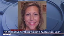 Car of missing Crest Hill woman found in Joliet