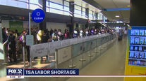 Shortage of TSA workers as summer travel surges